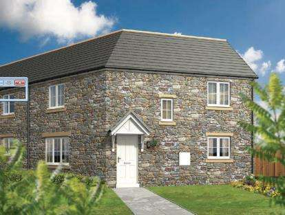4 Bedrooms Semi Detached House for sale in Goonhavern, Cornwall
