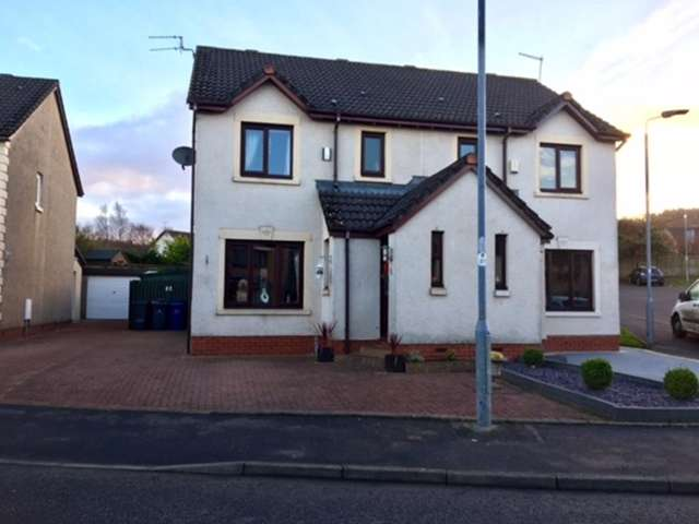 3 Bedrooms Semi Detached House for sale in Stravaig Walk, Paisley, PA2 0RY