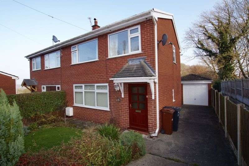 3 Bedrooms Semi Detached House for sale in Plas Yn Bwl, Caergwrle, Wrexham