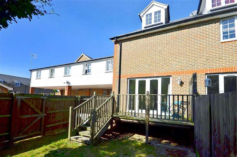 3 Bedrooms End Of Terrace House for sale in Sherway Close, Headcorn, Ashford, Kent