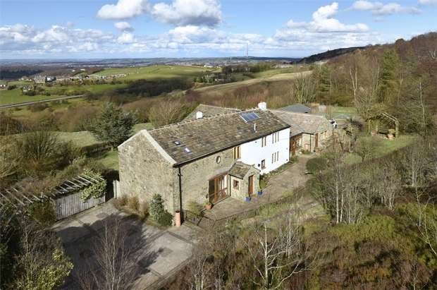 6 Bedrooms Detached House for sale in Hirst Lane, Cumberworth, HUDDERSFIELD, West Yorkshire