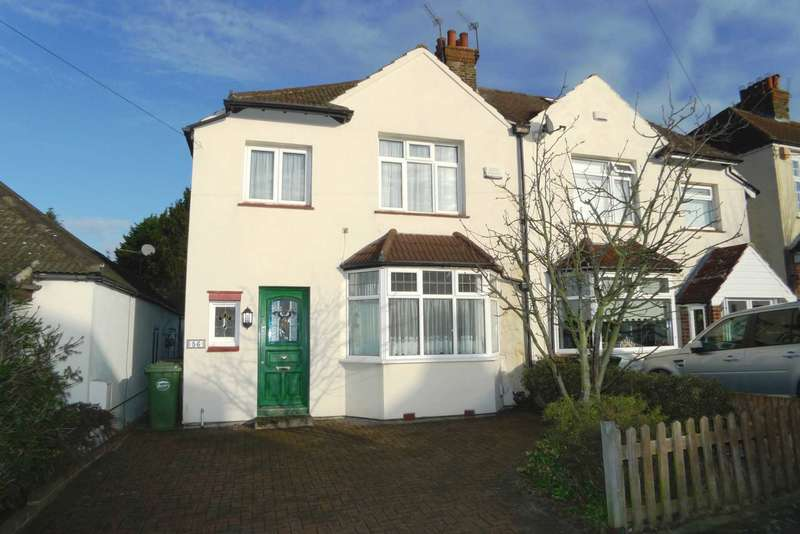 4 Bedrooms Semi Detached House for sale in Longlands Park Crescent, Sidcup DA15 7NE