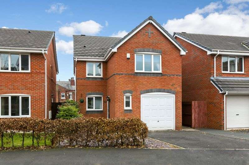 4 Bedrooms Detached House for sale in Rushwood Park, Standish, WN6 0GH