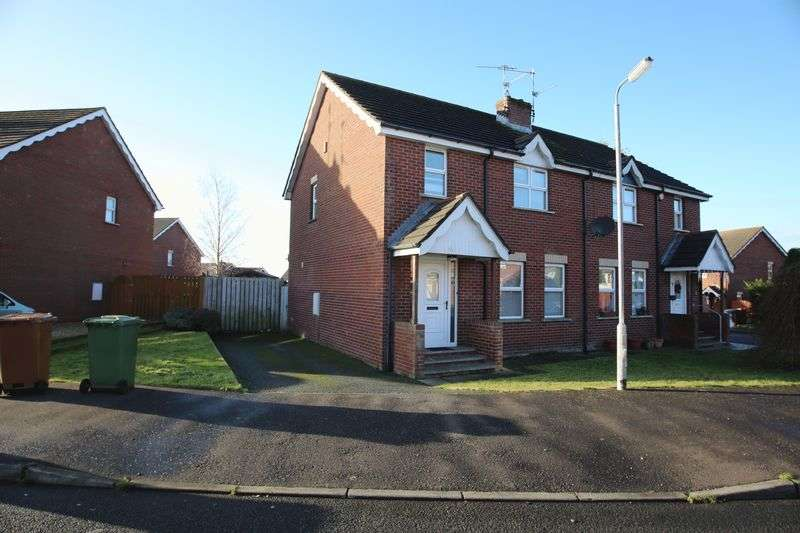 3 Bedrooms Semi Detached House for sale in 12 Twinem Court, Craigavon