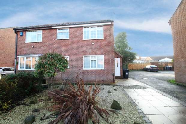 1 Bedroom Semi Detached House for sale in Cedarwood Glade, Middlesbrough, Cleveland, TS8 9DJ