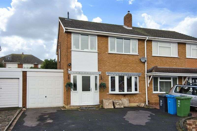 3 Bedrooms Semi Detached House for sale in Sutherland Road, Cheslyn Hay, Walsall