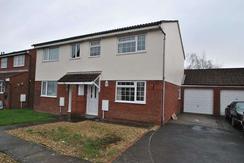 3 Bedrooms Semi Detached House for sale in Frobisher Close, Burnham-On-Sea