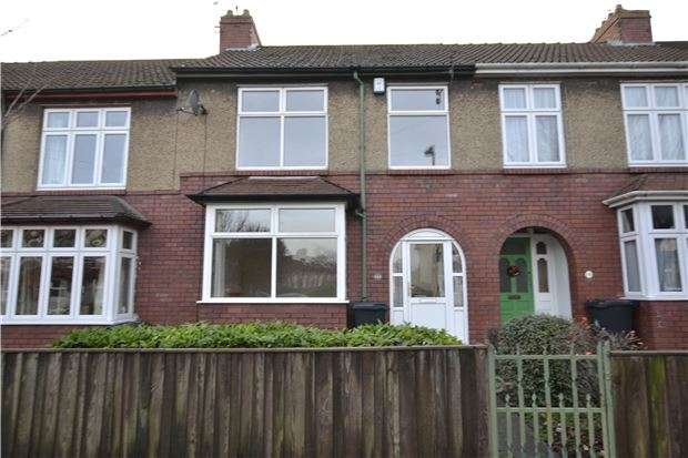 3 Bedrooms Terraced House for sale in Longmead Avenue, Bristol, BS7 8QQ