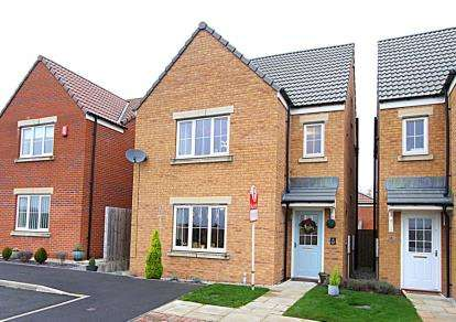 4 Bedrooms Detached House for sale in Lindup Road, Dronfield Woodhouse, Dronfield, Derbyshire
