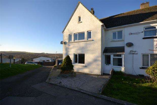 4 Bedrooms Semi Detached House for sale in Sunrising, Looe, Cornwall