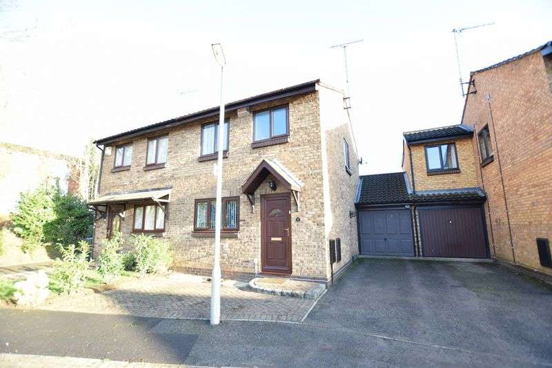 3 Bedrooms Semi Detached House for sale in Birch Leys, HUNTERS OAK, Hemel Hempstead