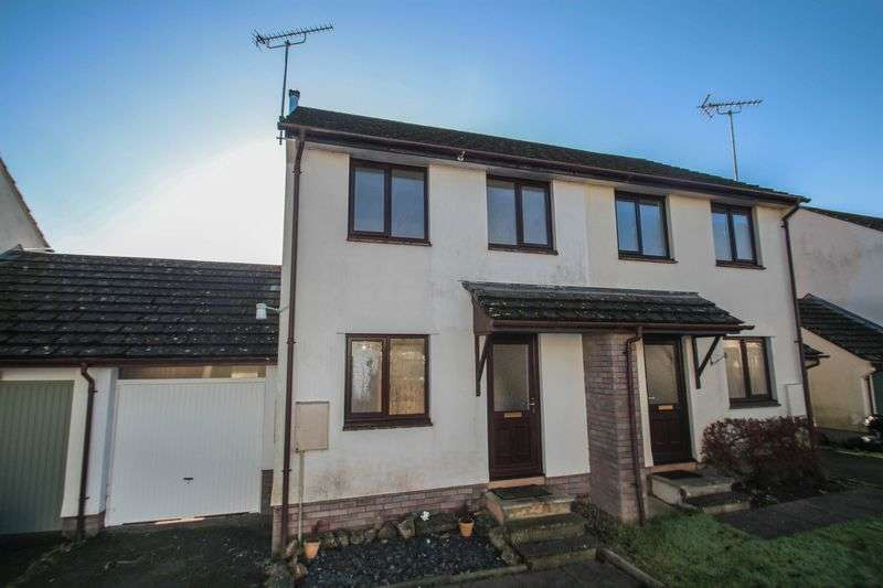 2 Bedrooms Semi Detached House for sale in 24 Fernworthy Park, Copplestone