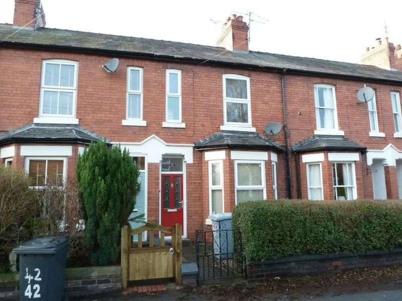 2 Bedrooms Terraced House for sale in Shrewbridge Road, Nantwich
