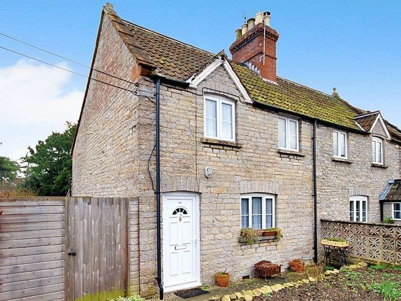 2 Bedrooms Semi Detached House for sale in Village of KINGSDON near Somerton.