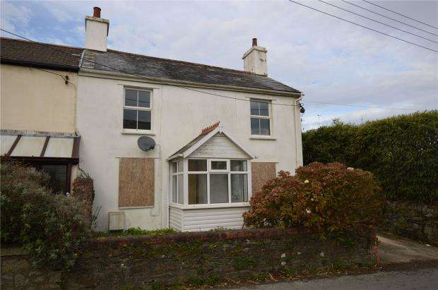 2 Bedrooms Semi Detached House for sale in Fore Street, Pensilva, Liskeard, Cornwall
