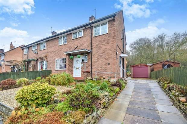 3 Bedrooms Semi Detached House for sale in 12 Riverside Avenue, Coalport, Shropshire