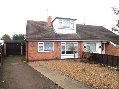 3 Bedrooms Bungalow for sale in Allington Drive, Birstall, Leicester, Leicestershire