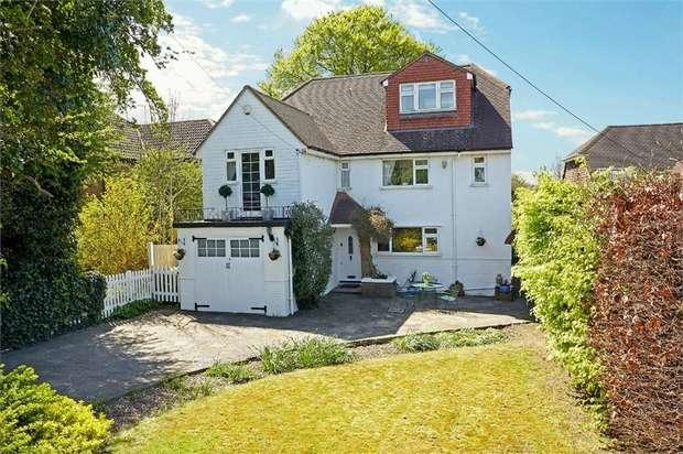 5 Bedrooms Detached House for sale in White Post Hill, Farningham, Dartford, Kent