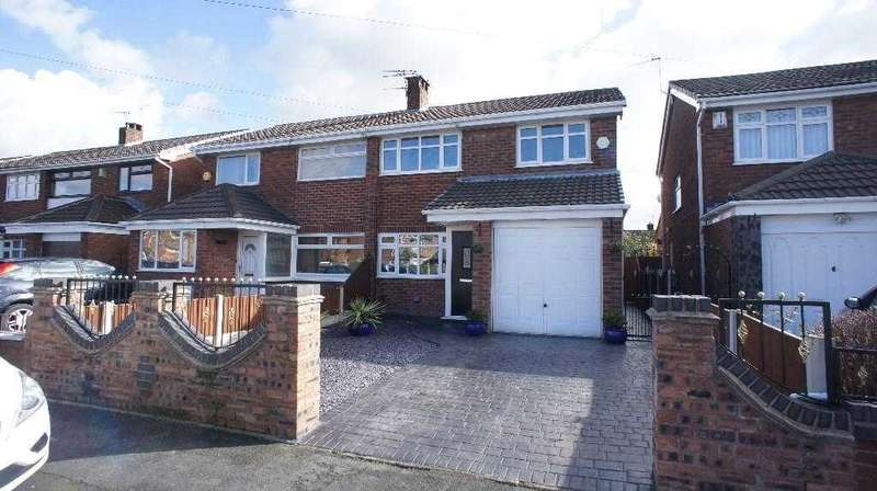 3 Bedrooms Semi Detached House for sale in Burns Grove, Orford