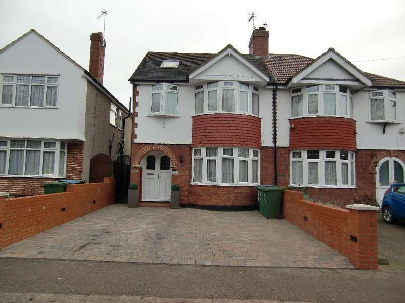 4 Bedrooms Semi Detached House for sale in North Approach, Watford, Herts, WD25