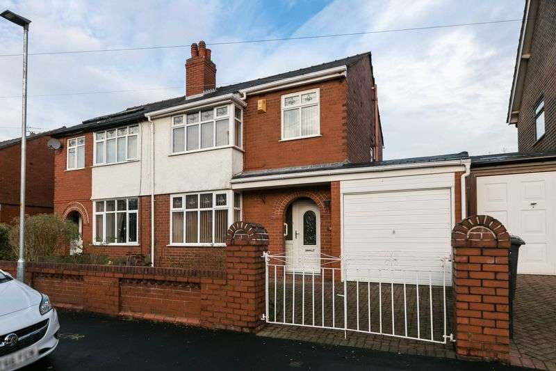 3 Bedrooms Semi Detached House for sale in Whiteside Avenue, Hindley, WN2 2SB