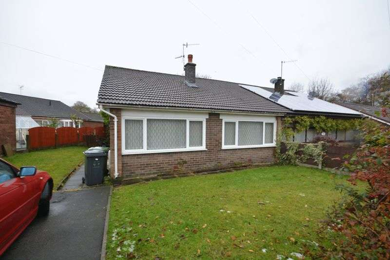 2 Bedrooms Semi Detached Bungalow for sale in Ward Avenue, Oswaldtwistle