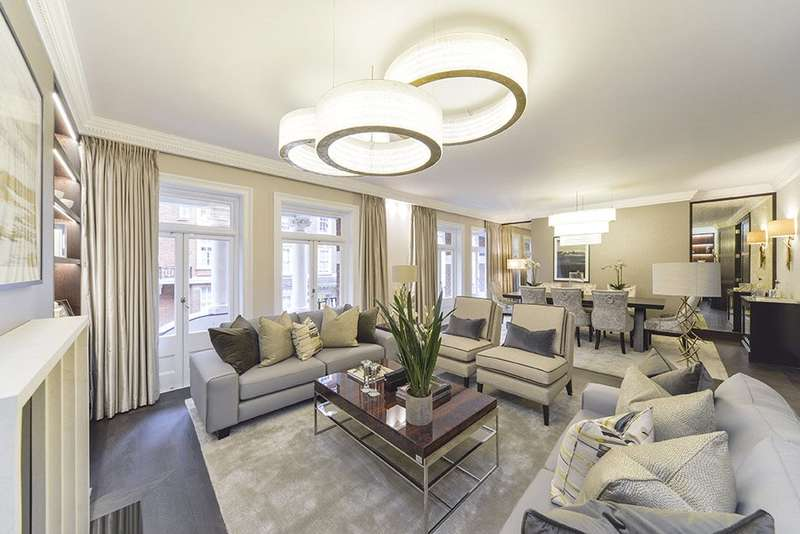 2 Bedrooms Flat for sale in Cadogan Court, Draycott Avenue, London, SW3