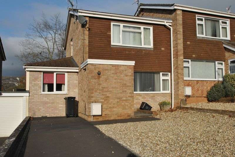 3 Bedrooms Semi Detached House for sale in Froglands Way, Cheddar