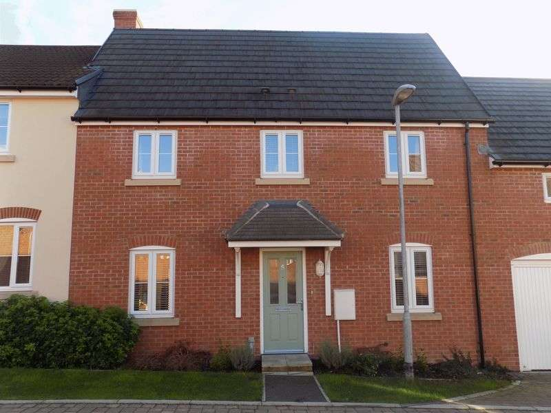 3 Bedrooms Terraced House for sale in Dior Drive, Swindon