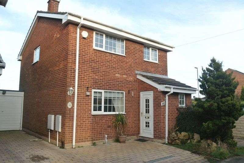 3 Bedrooms Detached House for sale in Quines Hill Road, Mansfield