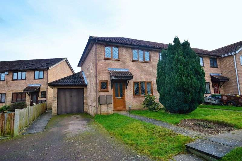 3 Bedrooms Terraced House for sale in Nutwood Close, Taverham