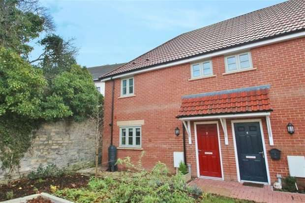 2 Bedrooms Terraced House for sale in Chalice Park, Glastonbury