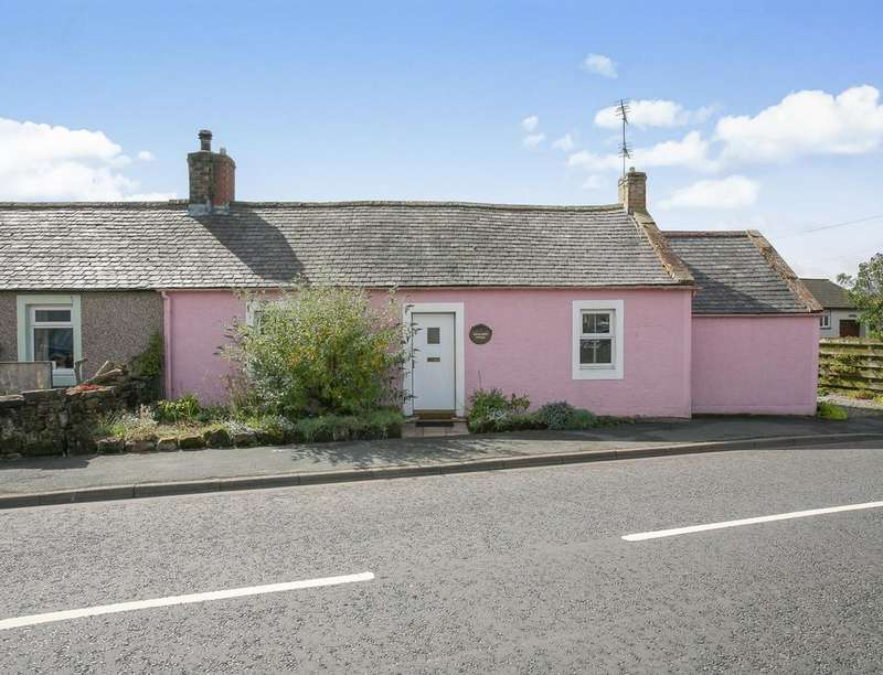 2 Bedrooms Semi Detached House for sale in Wallflower Cottage, Eaglesfield, Lockerbie, DG11