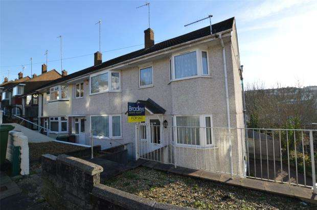 3 Bedrooms End Of Terrace House for sale in Ashford Crescent, Plymouth, Devon
