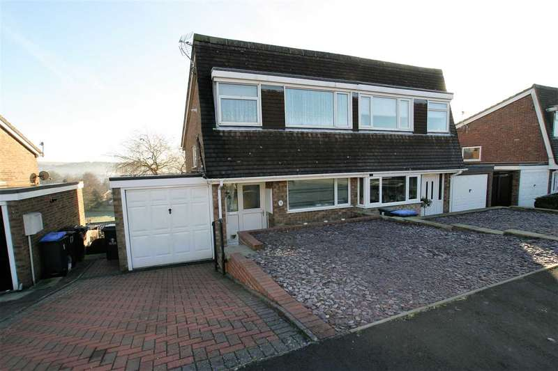 3 Bedrooms Semi Detached House for sale in Lorien Close, Leek