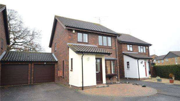 3 Bedrooms Detached House for sale in Chicory Close, Earley, Reading