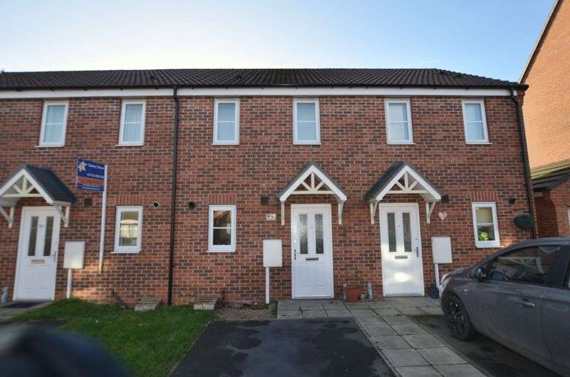 2 Bedrooms Terraced House for sale in Linnet Garth, Scunthorpe
