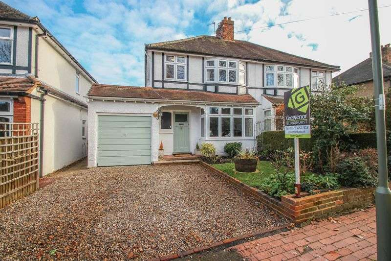 4 Bedrooms Semi Detached House for sale in Meadow Road, Claygate, Esher