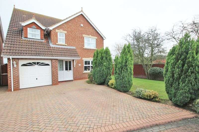 4 Bedrooms Detached House for sale in BERKELEY ROAD, CLEETHORPES