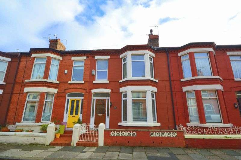 3 Bedrooms Terraced House for sale in Grovedale Road, Mossley Hill