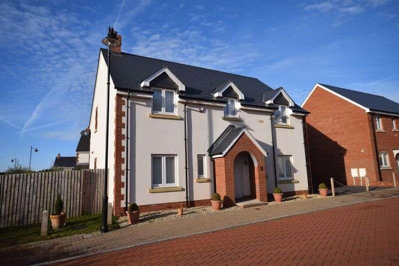 4 Bedrooms Detached House for sale in Llys Glas Y Gors, Bridgend