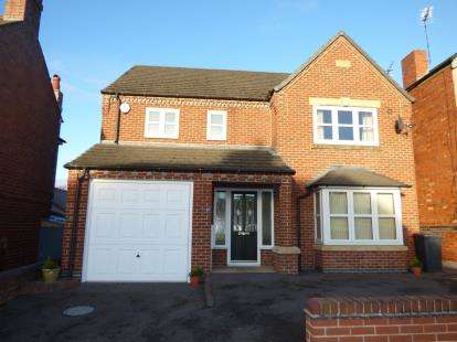 4 Bedrooms Detached House for sale in Saxon Street, Burton-On-Trent, Staffordshire