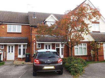 2 Bedrooms Terraced House for sale in Sheridan Way, Hucknall, Nottingham, Nottinghamshire
