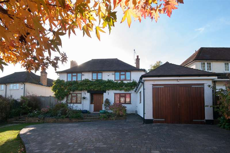 4 Bedrooms Detached House for sale in Church Hill, Merstham, Redhill, Surrey, RH1
