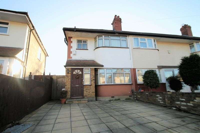 3 Bedrooms Terraced House for sale in Girton Close, Northolt,