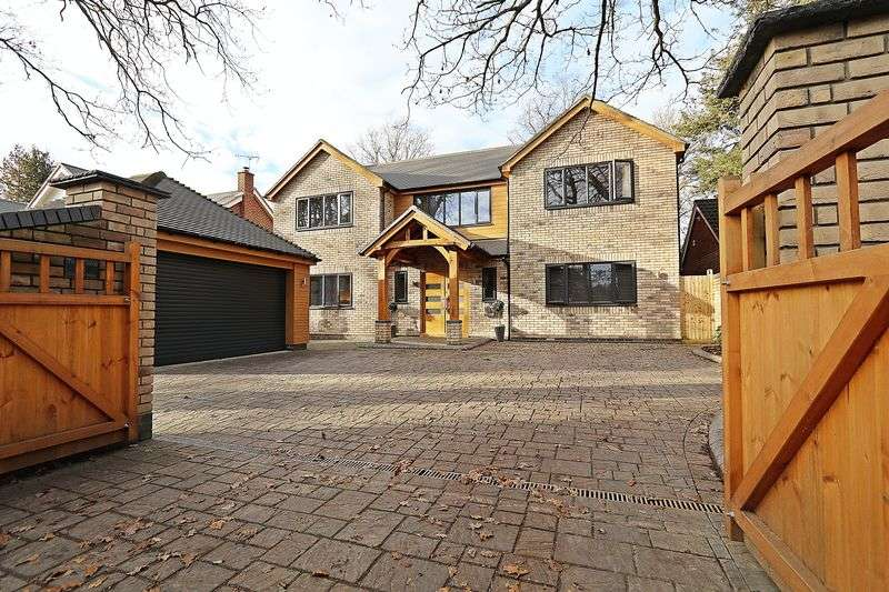 5 Bedrooms Detached House for sale in Coldeast Way, Sarisbury Green