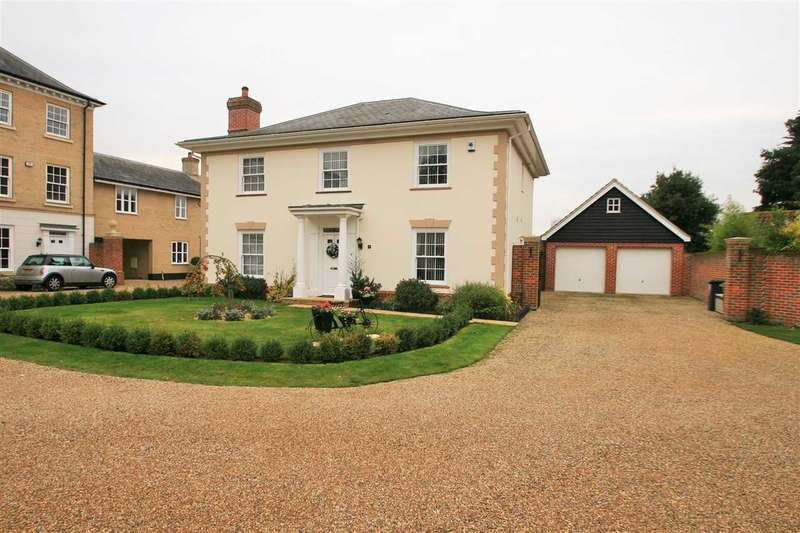 4 Bedrooms Detached House for sale in Lawford Place, Lawford, Manningtree