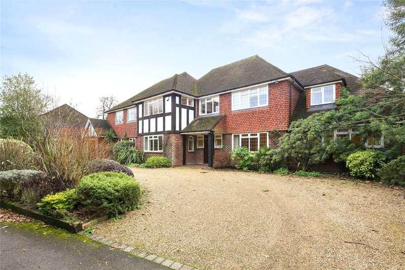 6 Bedrooms Detached House for sale in Oakfield Close, Weybridge, Surrey, KT13