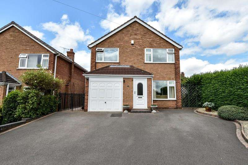 4 Bedrooms Detached House for sale in Greenfield Avenue, Marlbrook, Bromsgrove