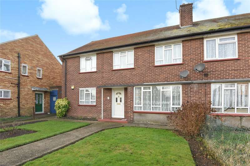2 Bedrooms Maisonette Flat for sale in St. Peters Road, Uxbridge, Middlesex, UB8